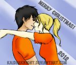Percabeth Christmas 2012 by KaiDarknight