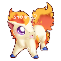 Ponyta v2 by Clinkorz