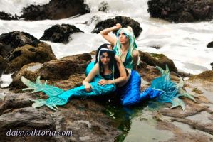 Mermaid Sisters by DaisyViktoria
