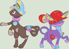Adoptables - Meowshroom Patch #1 by Registered111