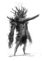 creatureconcept - logmonster4 by DefiledVisions
