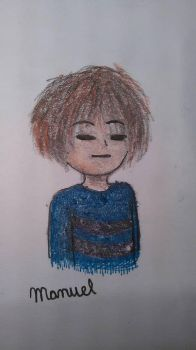 Frisk (?) by DarkCrystal547