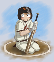 Oofuri - Batter Circle by Gabbi
