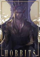 Thranduil Hobbits fanart by narrator366