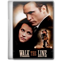 Walk the Line (2005) Movie DVD Icon by A-Jaded-Smithy