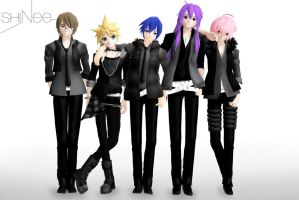 MMD - SHINee by Vocalizer