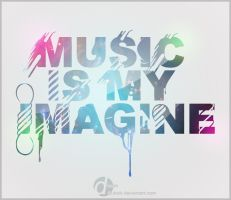 Music is my imagine by Qubsik