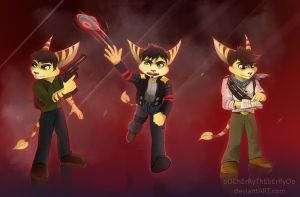 Ratchet and Clank Crossovers 2 by oOChErRyThEbErRyOo