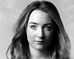 Saoirse Ronan. Wallpaper by StalkerAE