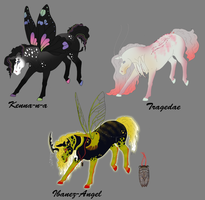 The Natives of DreamWhisper Prizes by TehPage