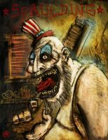 Captain Spaulding by Oli-Carpentier