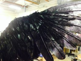 CAW wings Large DETAIL front animatronic cable op by Mizuenzeru