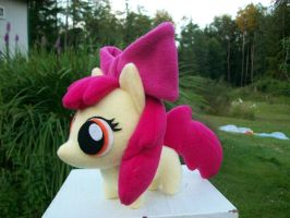 Apple Bloom Chibi Pony MLP FIM by happybunny86