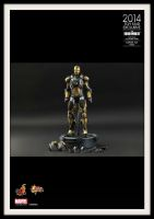IRON MAN 3 PYTHON by Hot-Toys