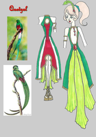 Quetzal Dress by CrimsonCommande