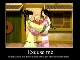 Aang Demotivational by growler100