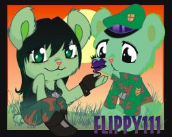Sam and Flippy by wogeic