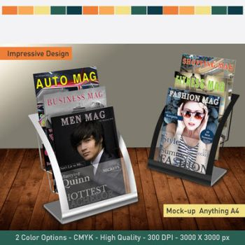 Magazine Brochure Mock-up by hawkmax