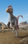 WIP - Velociraptor mongoliensis 'Cricket' - again by FabrizioDeRossi