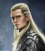 Legolas (The Hobbit) by jellyxbat