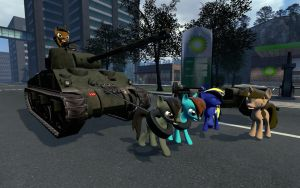 We must move little tank! by Miel1994