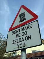 Hylian sign LoL by elfofcourage