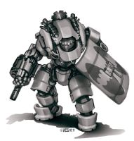 Republic Steam Golem by Lionel23