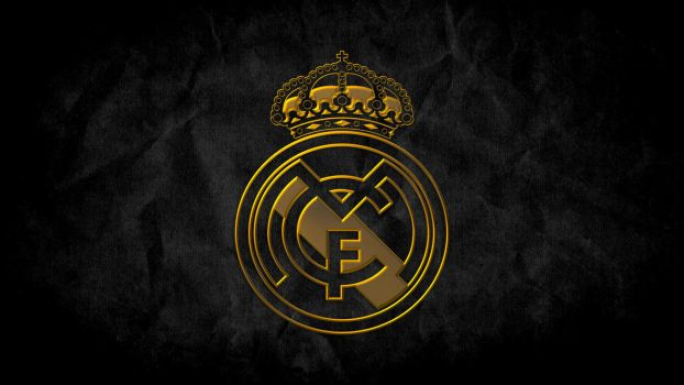 Real Madrid Gold Wallpaper by SyNDiKaTa-NP