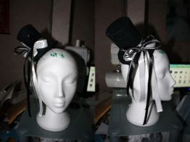 Gothic Lolita top hat by Destinys-spirits
