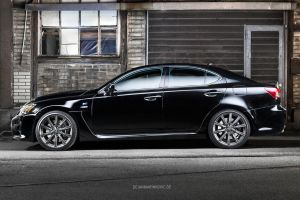 Lexus IS-F Side by AmericanMuscle