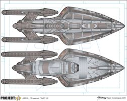 USS PHOENIX WIP2 Commission by stourangeau