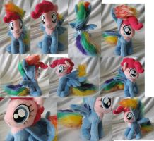 Pinkie Pie in RD hoodie(Cupcakes)RELISTED FOR SALE by Rens-twin