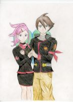 Anemone and Dominic love by Melaninny