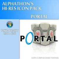 Portal Icon by Alphathon