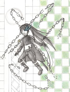 Black Rock Shooter Male Vers. by Kazuki-kunthe-artist