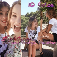 Photopack Martina Stoessel #3 Con Bridgit Mendler by TiniDesigns