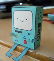 Bmo Papercraft by RaDiOaCtIvE-KaTiE