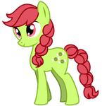 Earth Pony - Appletaffy by Angelkitty17