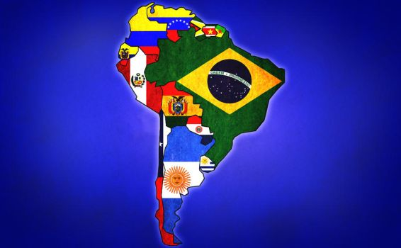 South America Flags by FavsCo
