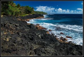 Black Beaches of Big Island by IgorLaptev