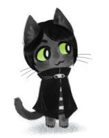 Animal Crossing Black kitty by Kethavel