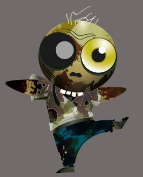 lil zombie by RodVill