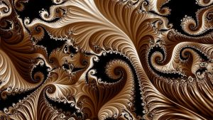 SWIRLS OF FRACTALS by Voyager-I