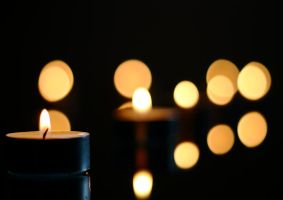 Candle lights by Granlyk