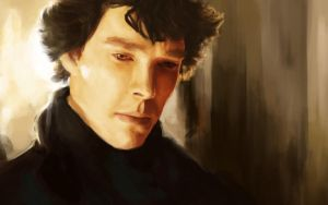 BBC Sherlock by thewordlesssignature