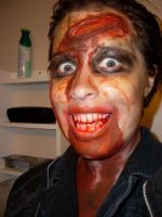 Reaver Makeup- Halloween 2012 by MonnieMoero
