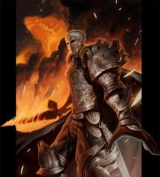 Paladin of Fire by Noxypia