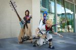 Cosplay: Terra Aqua and Ventus by Risachantag