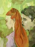 Tourney (Sansa + Petyr) by SmudgeThistle