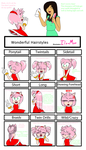 Hairstyle Meme With Amy Rose~ by Ila-Mae